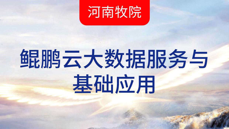 鲲鹏云大数据-牧业经济(8月8日)