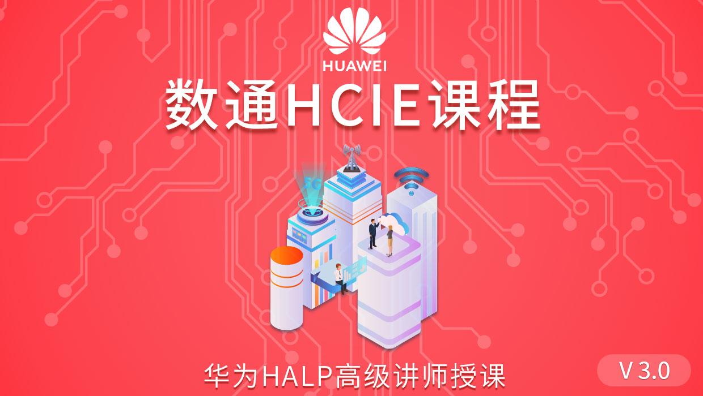 华为数通HCIE精品课程(附考试模拟训练)